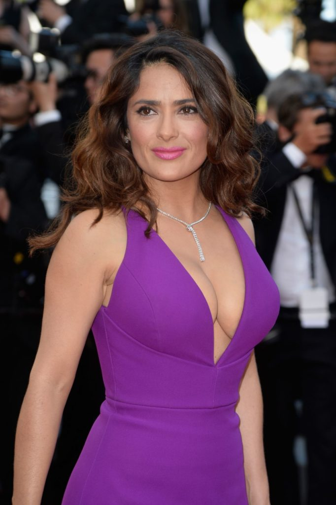 Salma Hayek Muscles Photos