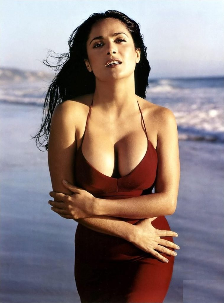 Salma Hayek Swimsuit Images