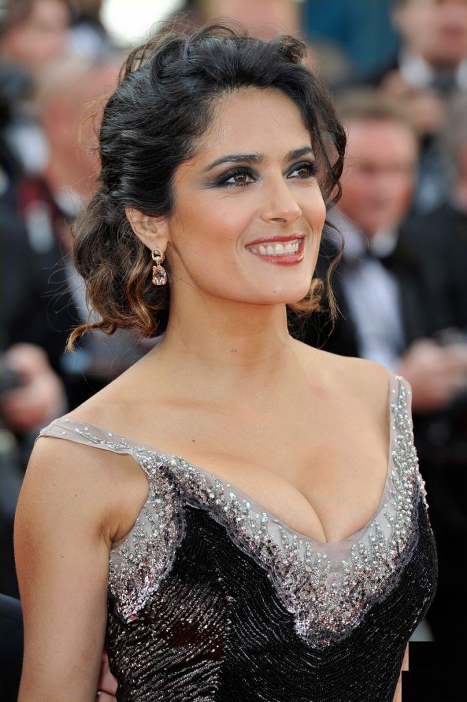 Salma Hayek Tattoos Images