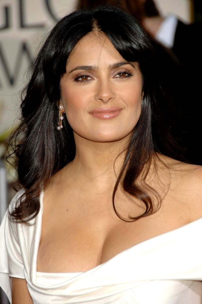 Salma Hayek Topless Wallpapers