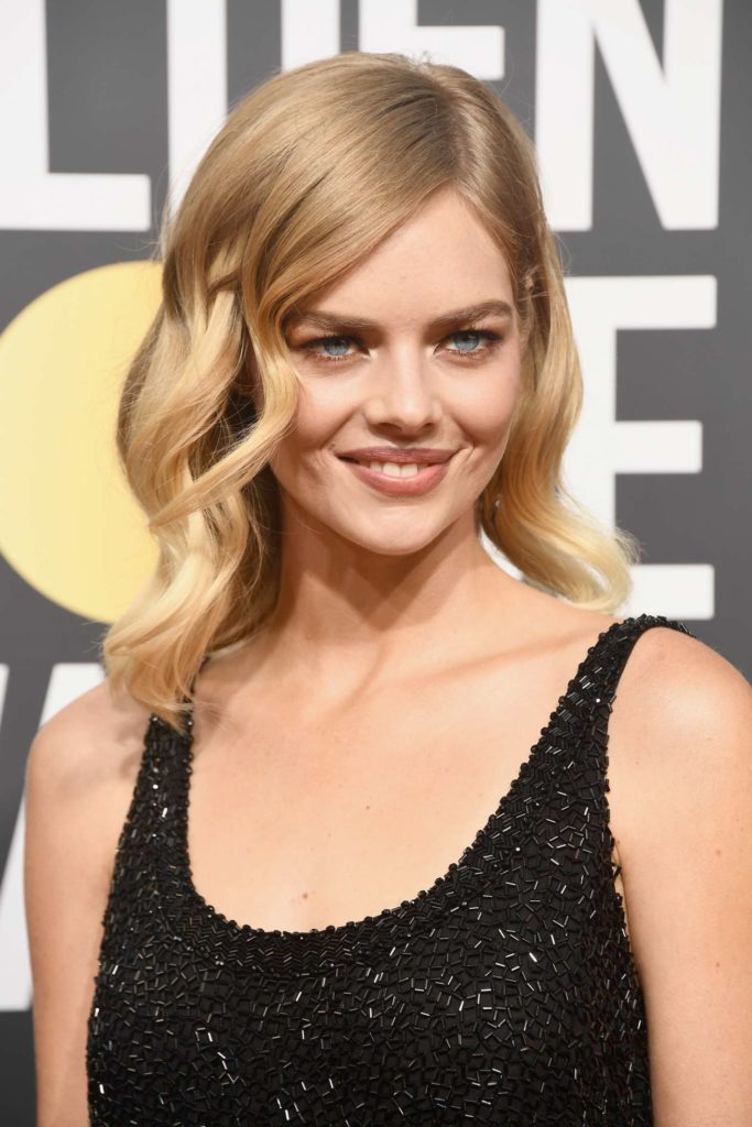 Samara Weaving Topless Wallpapers