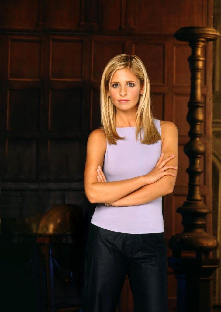 Sarah Michelle Gellar Working Out Wallpapers