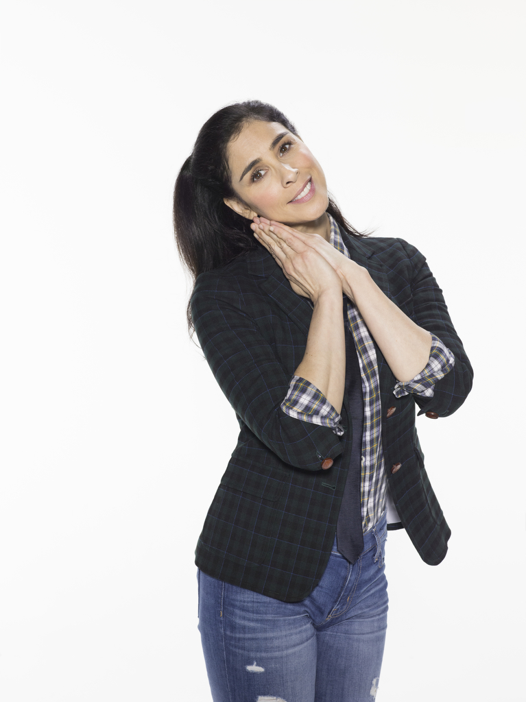 Sarah Silverman Smile Face Photos