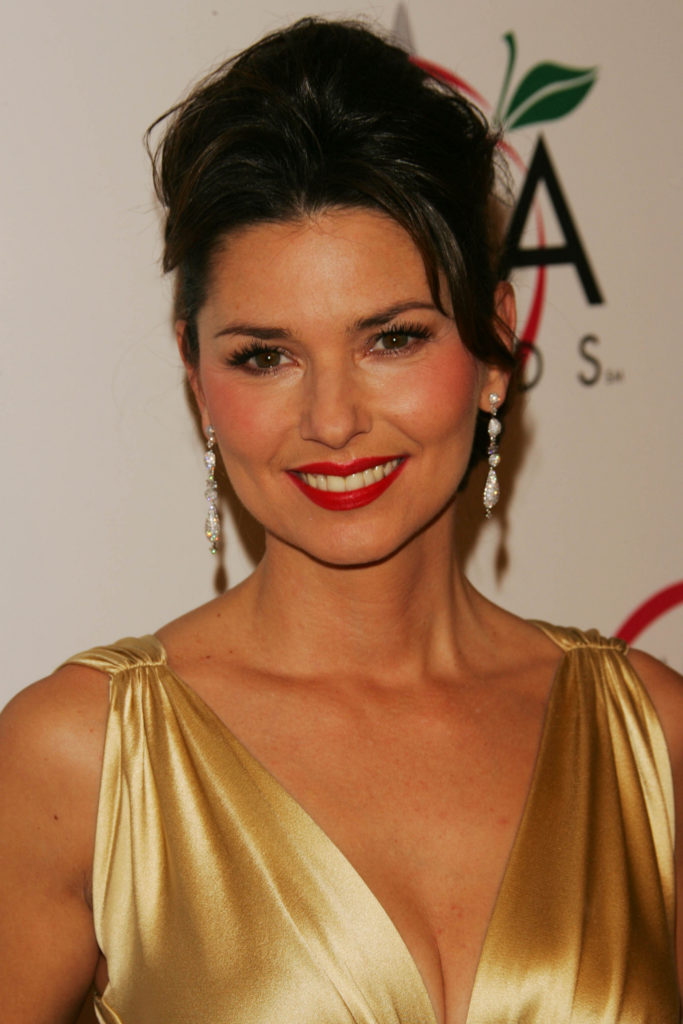 Shania Twain Hair Style Pictures