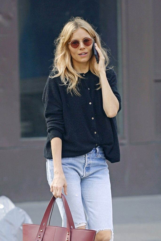 Sienna Miller Jeans Pictures