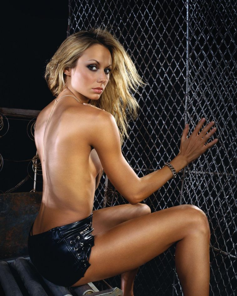 Stacy Keibler Topless Images