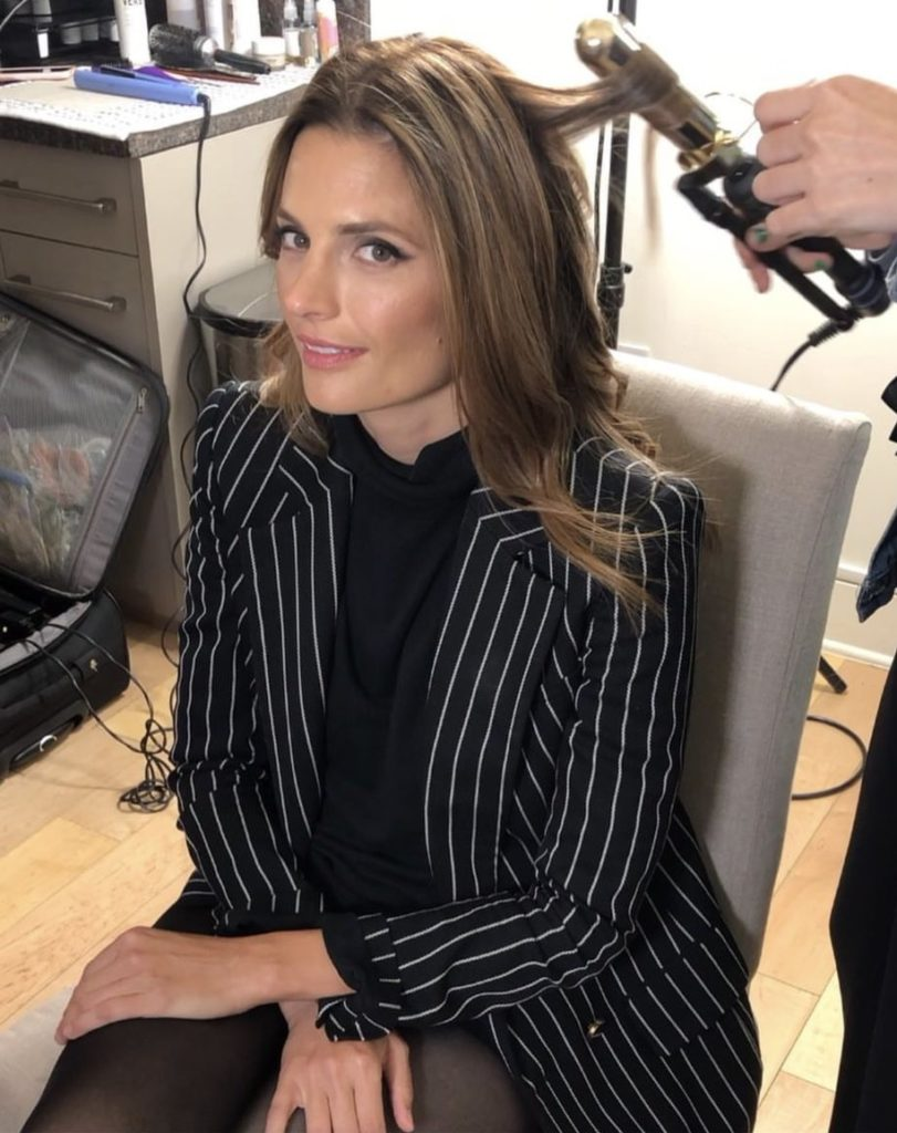 Stana Katic Haircut Pictures