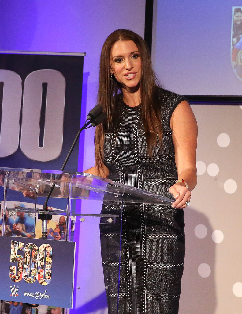 Stephanie McMahon Leggings Photos