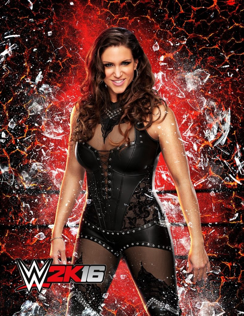 Stephanie McMahon Oops Moment Images