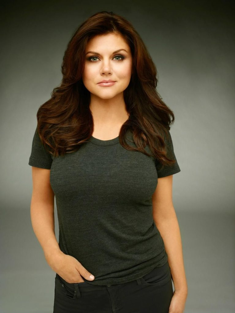 Tiffani Amber Thiessen Looks All Playful While Posing in