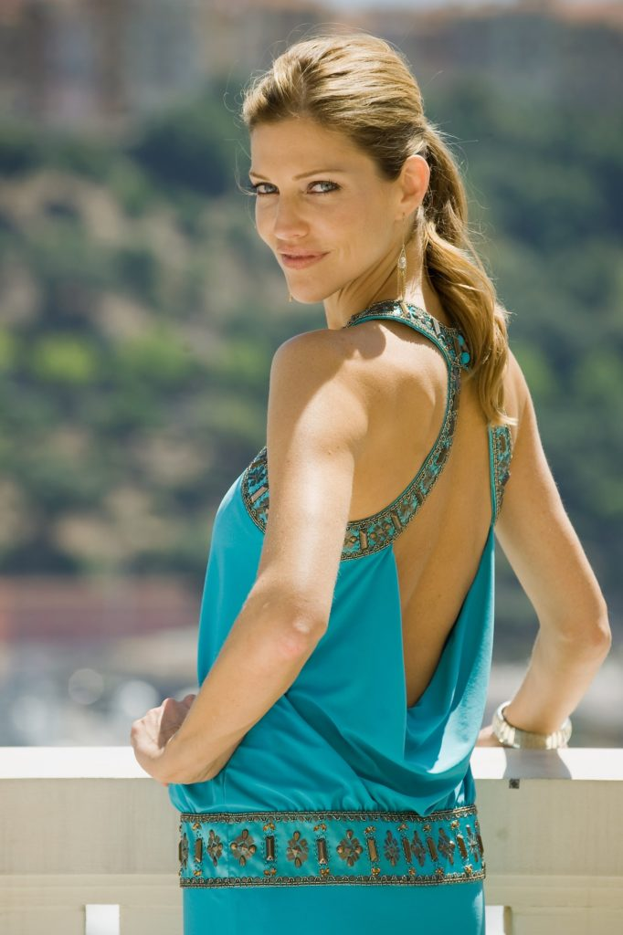 Tricia Helfer Beach Wallpapers