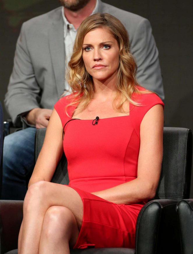 Tricia Helfer Muscles Wallpapers