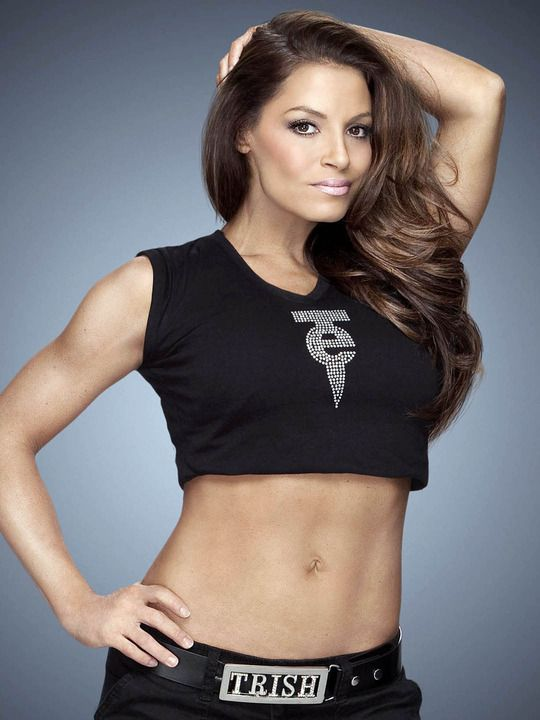Trish Stratus Bra Wallpapers