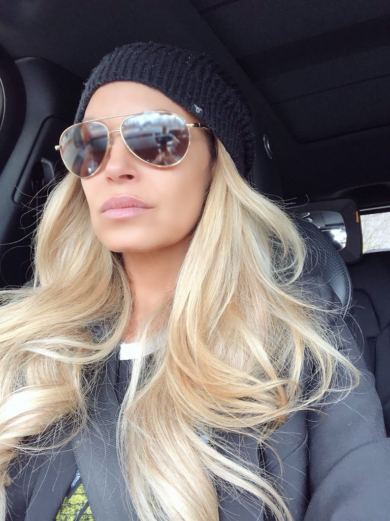 Trish Stratus Haircut Photos