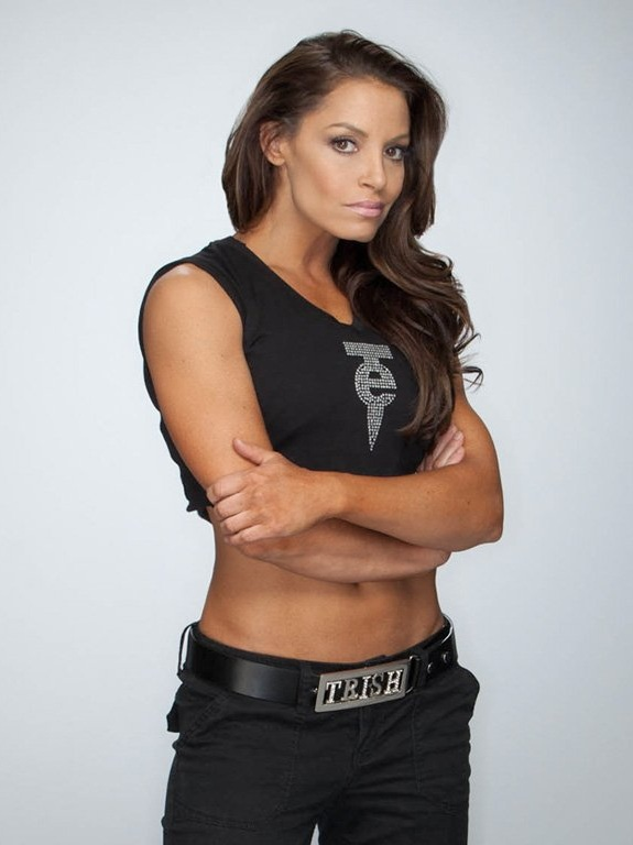 Trish Stratus Workout Images