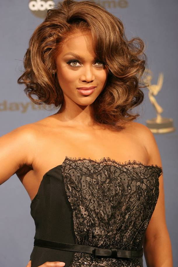 Tyra Banks Cleavage Wallpapers