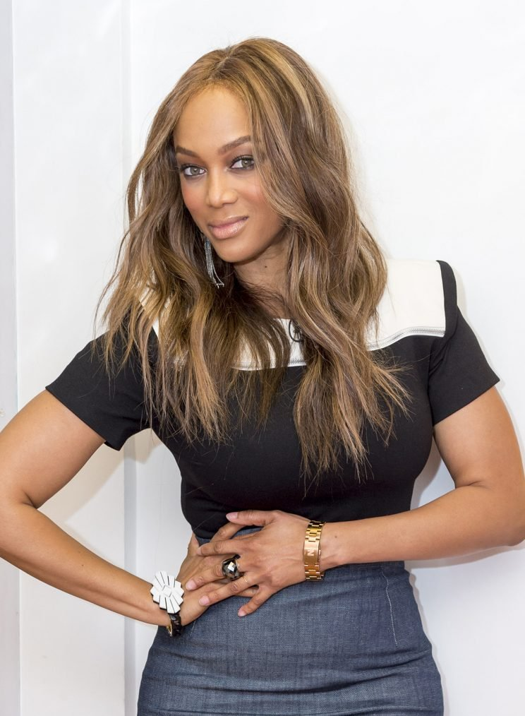 Tyra Banks Makeup Pics