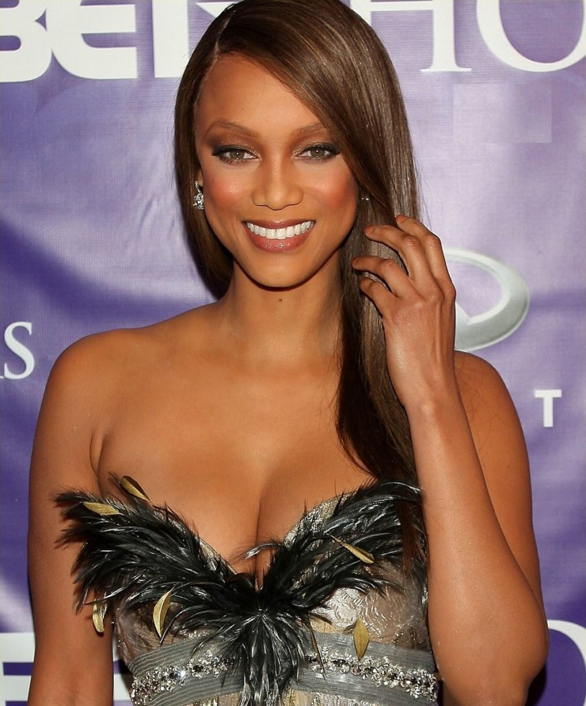 Tyra Banks Undergarments Photos