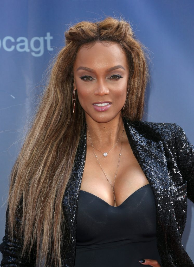 Tyra Banks Working Out Photos
