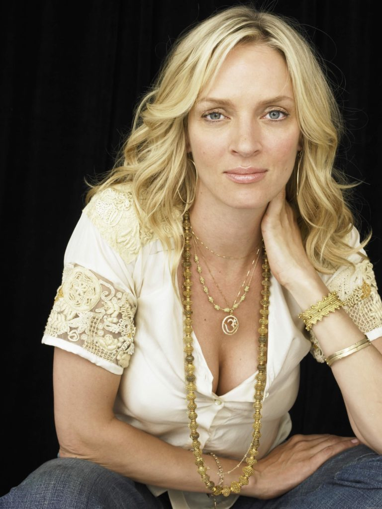 Uma Thurman Braless Pictures