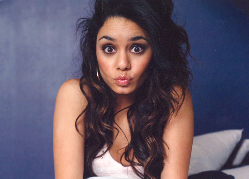 Vanessa Hudgens Smile Face Images