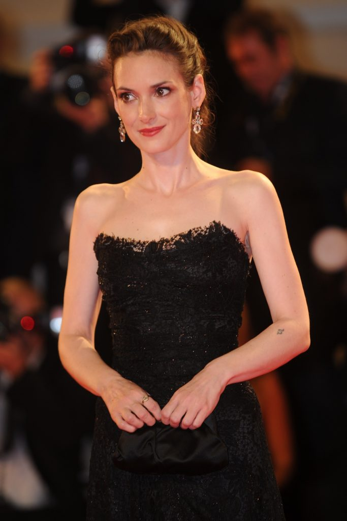 Winona Ryder Oops Moment Photos