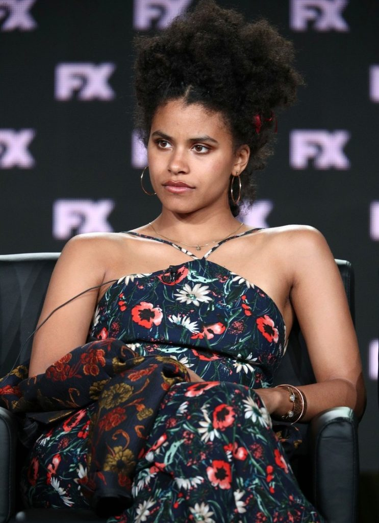 Zazie Beetz Long Hair Pictures