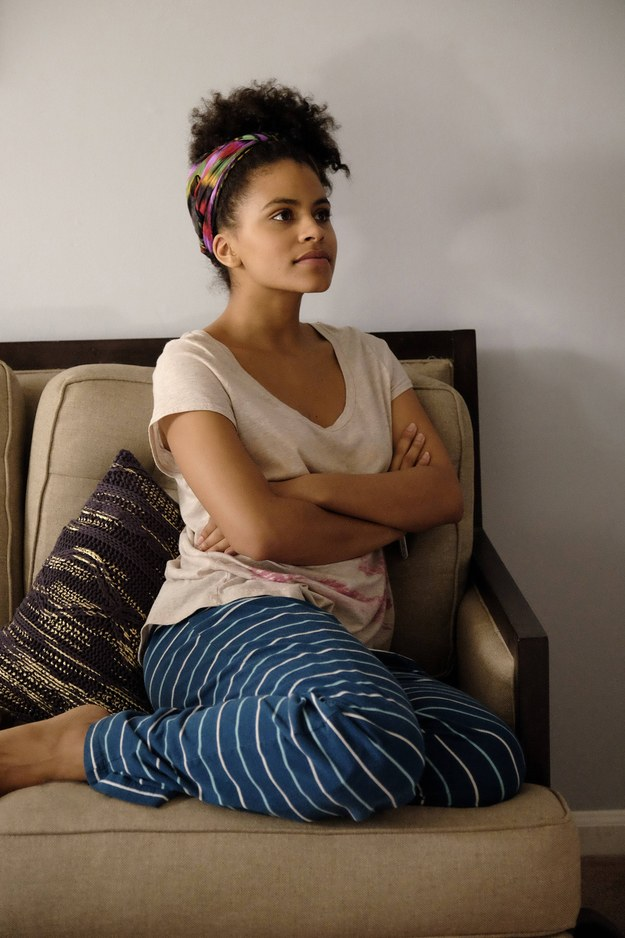 Zazie Beetz Working Out Images