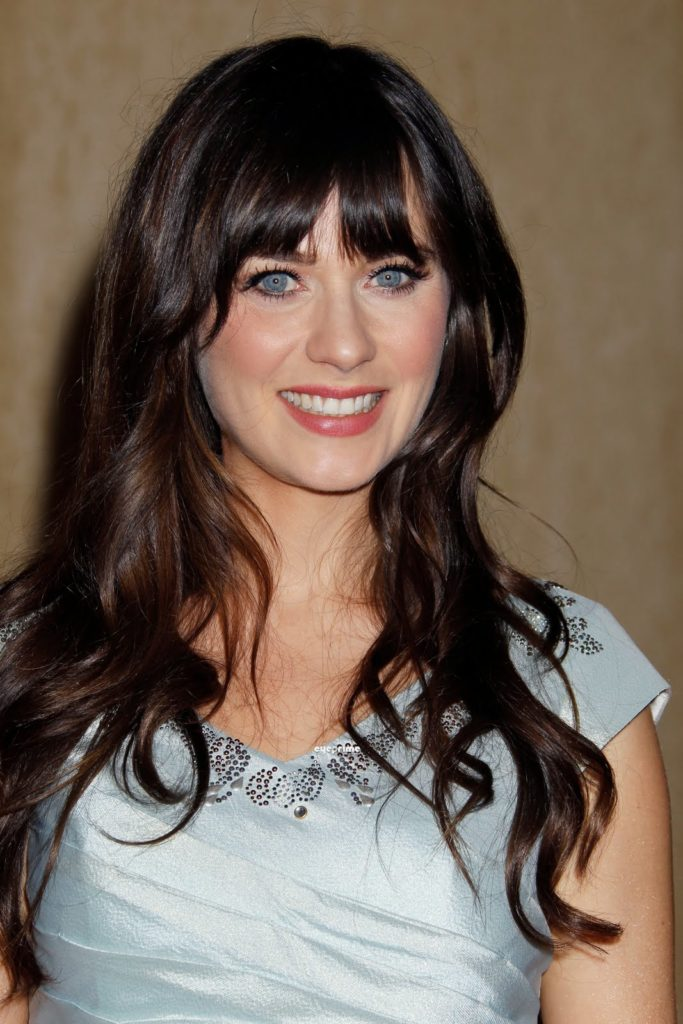 Zooey Deschanel Hair Style Images