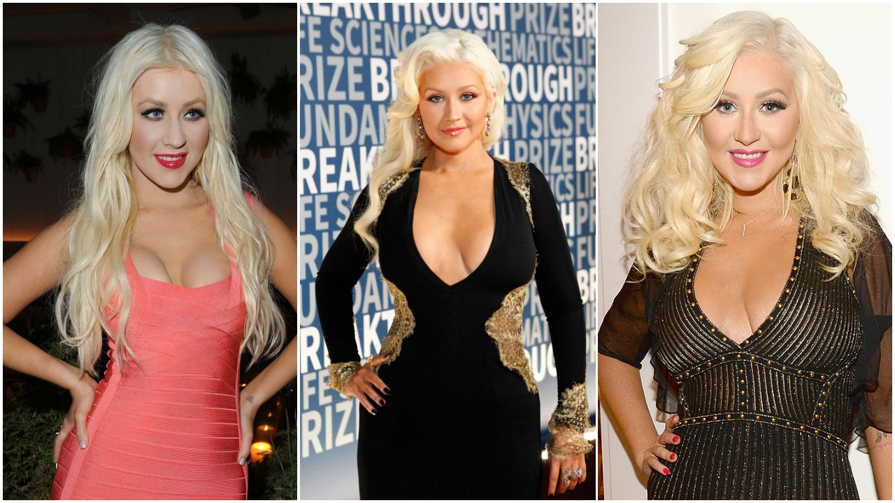 Christina Aguilera Hot Bikini Pictures Look Sexy After Plastic Surgery