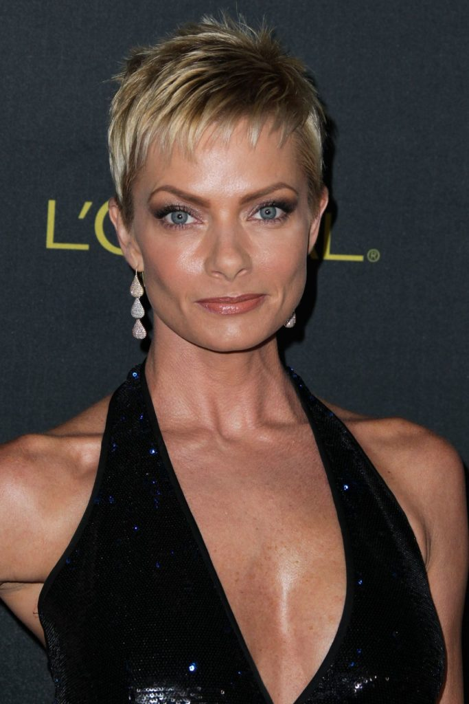 Jaime Pressly Makeup Photos