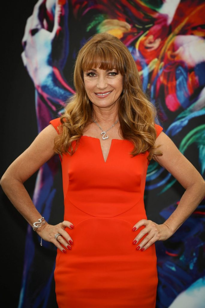 Jane Seymour Yoga Pants Photos