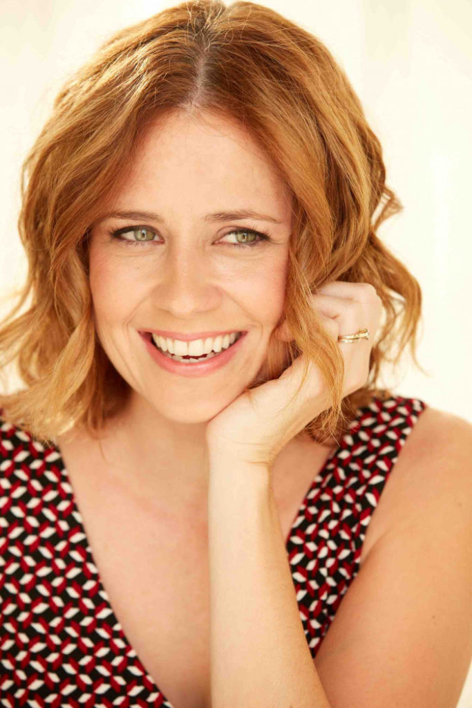 Jenna Fischer Smile Face Wallpapers