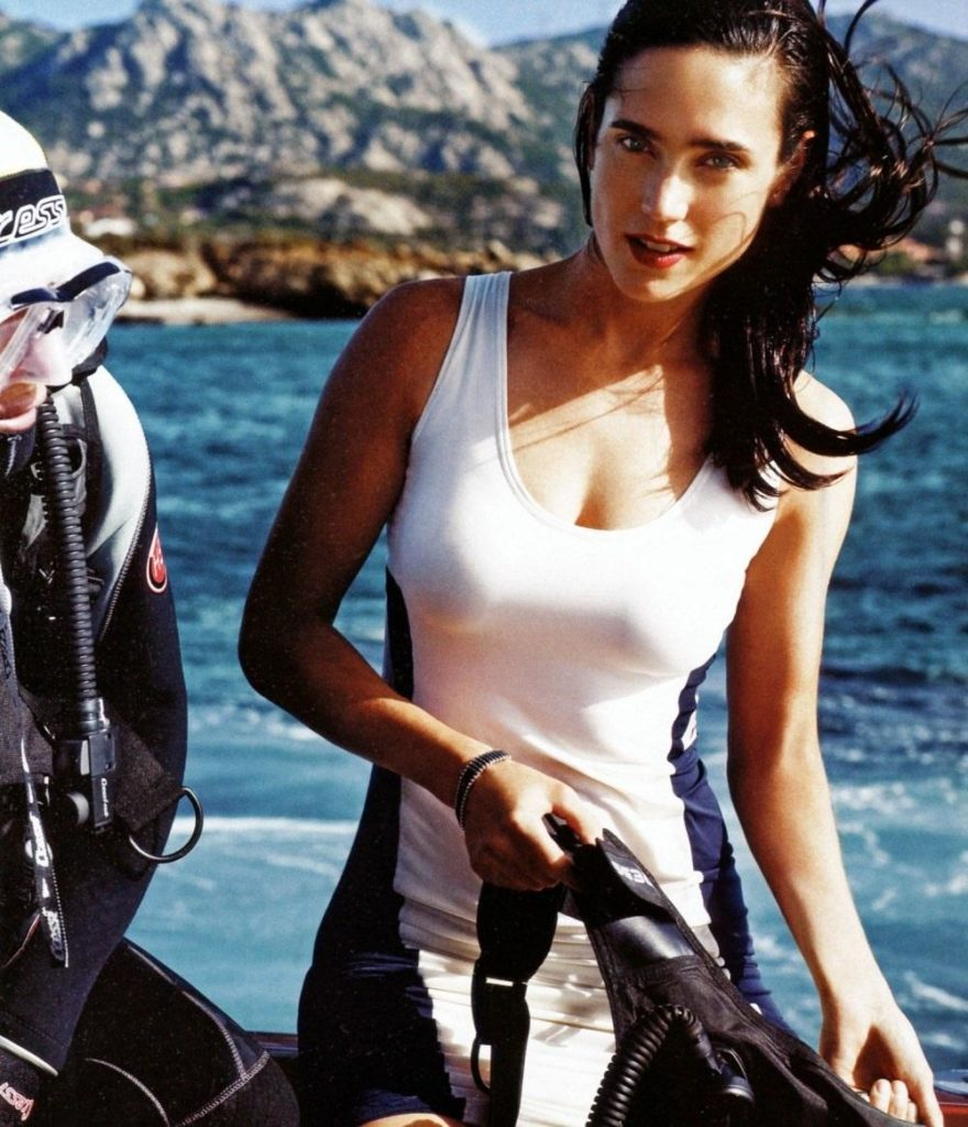 Jennifer Connelly Beach Pictures