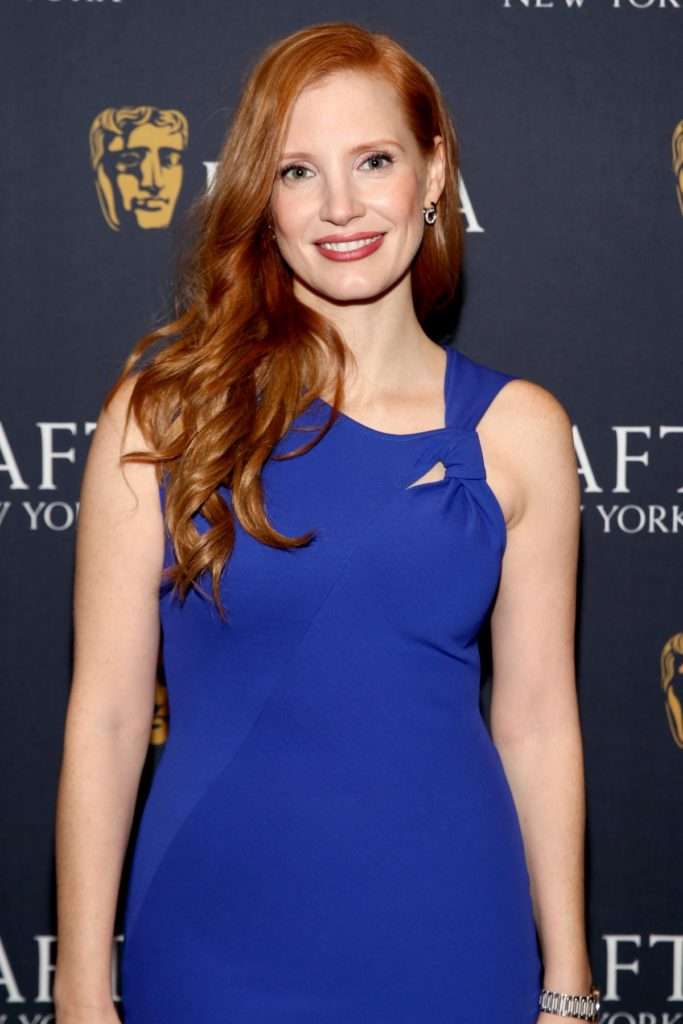 Jessica Chastain Hair Style Images