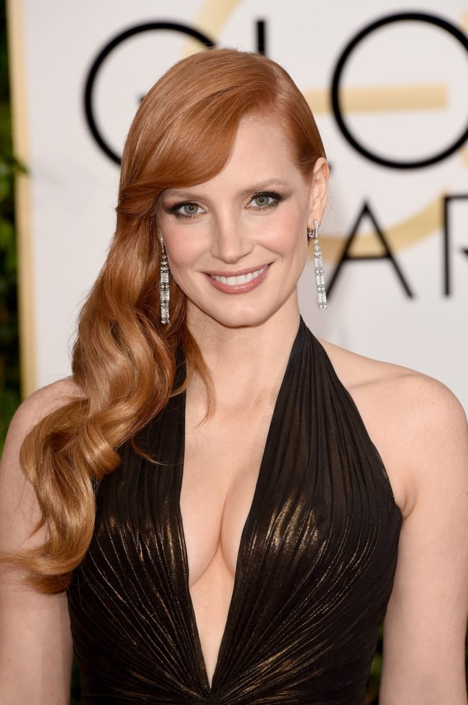 Jessica Chastain Lingerie Wallpapers