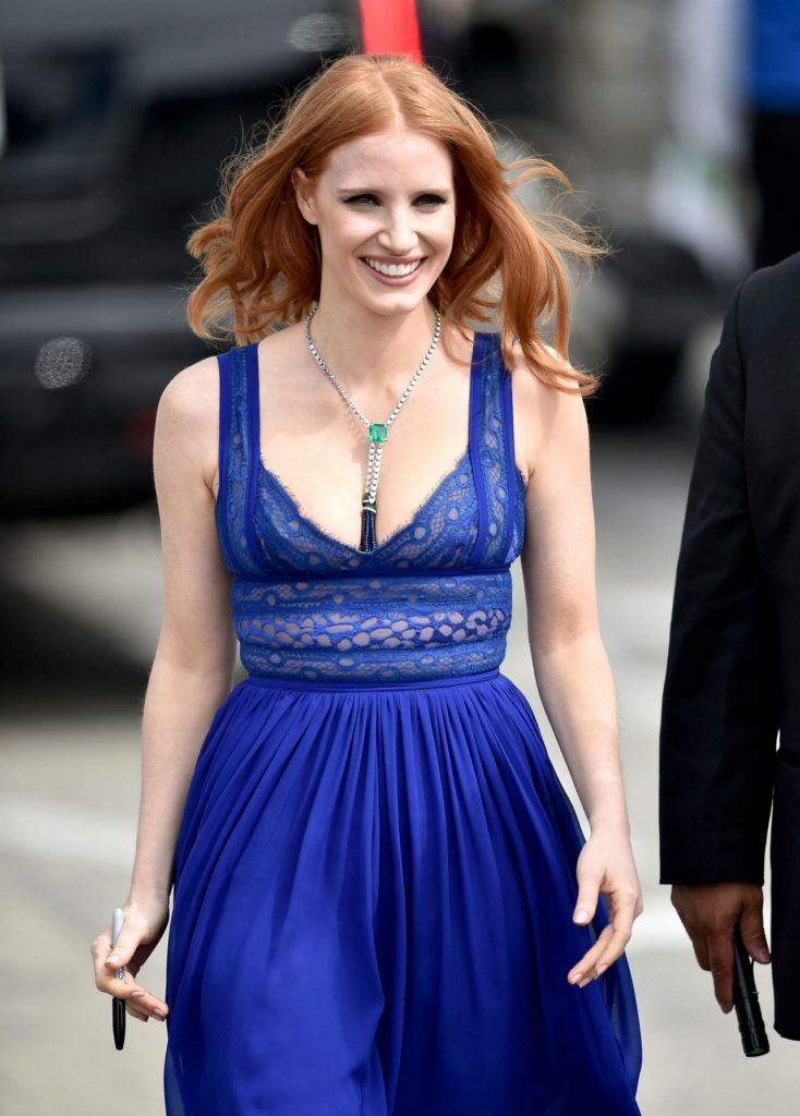 Jessica Chastain Shorts Images