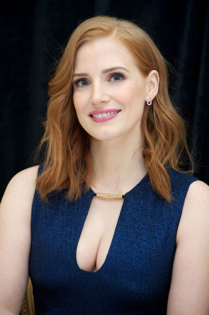 Jessica Chastain Without Makeup Pictures