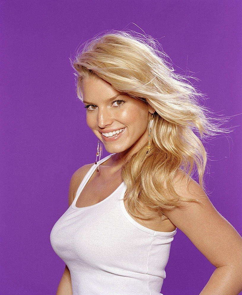 Jessica Simpson Cleavage Wallpapers