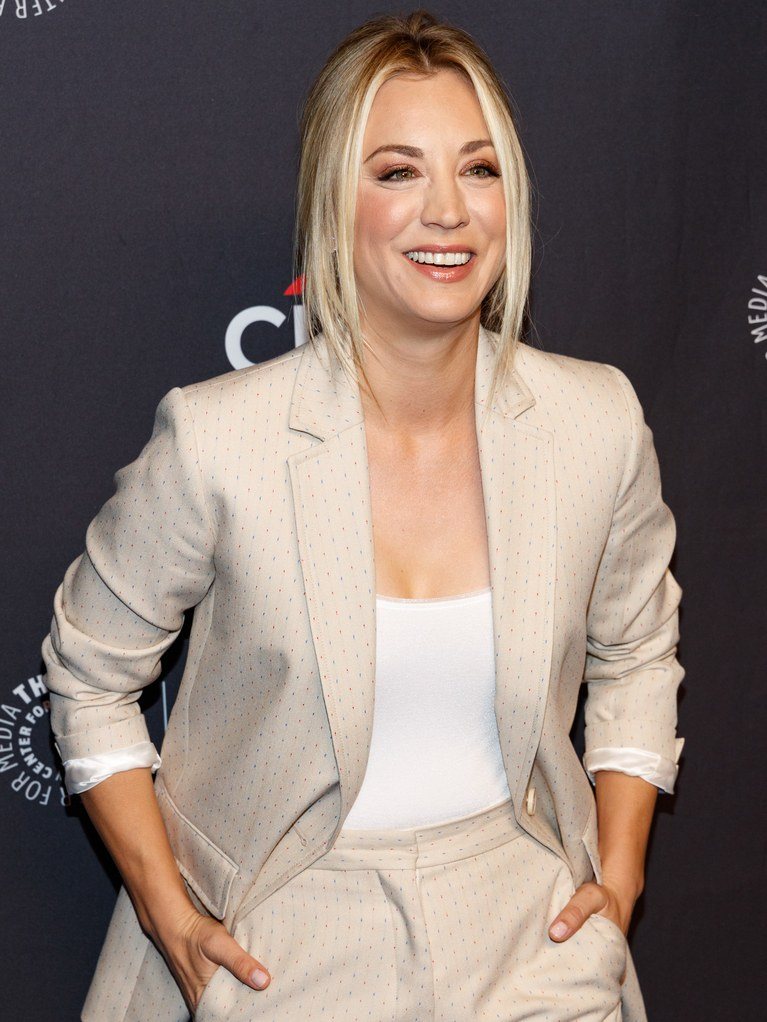 Kaley Cuoco Hair Style Images