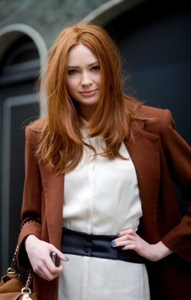 Karen Gillan Long Hair Pictures