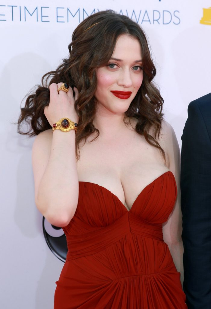 Kat Dennings Braless Wallpapers