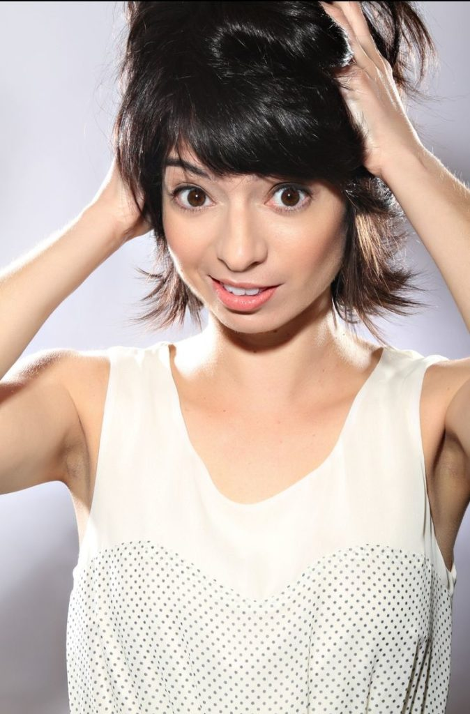 Kate Micucci Braless Images