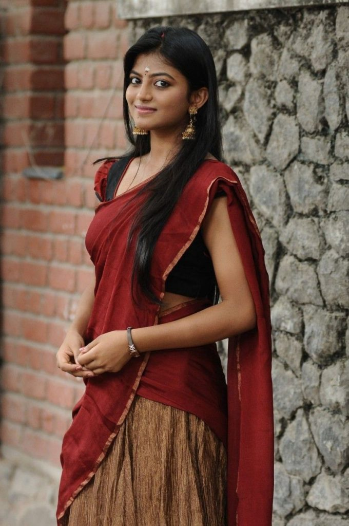 Anandhi Cleavage Photos