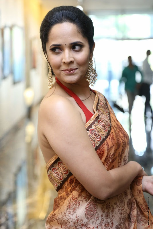 Anasuya Bharadwaj Saree Photos