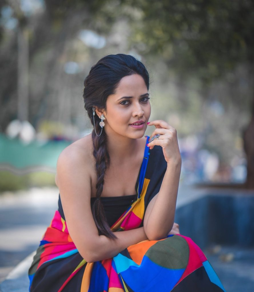 Anasuya Bharadwaj Topless Photos