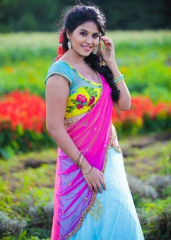 Anjali Saree Wallpapers