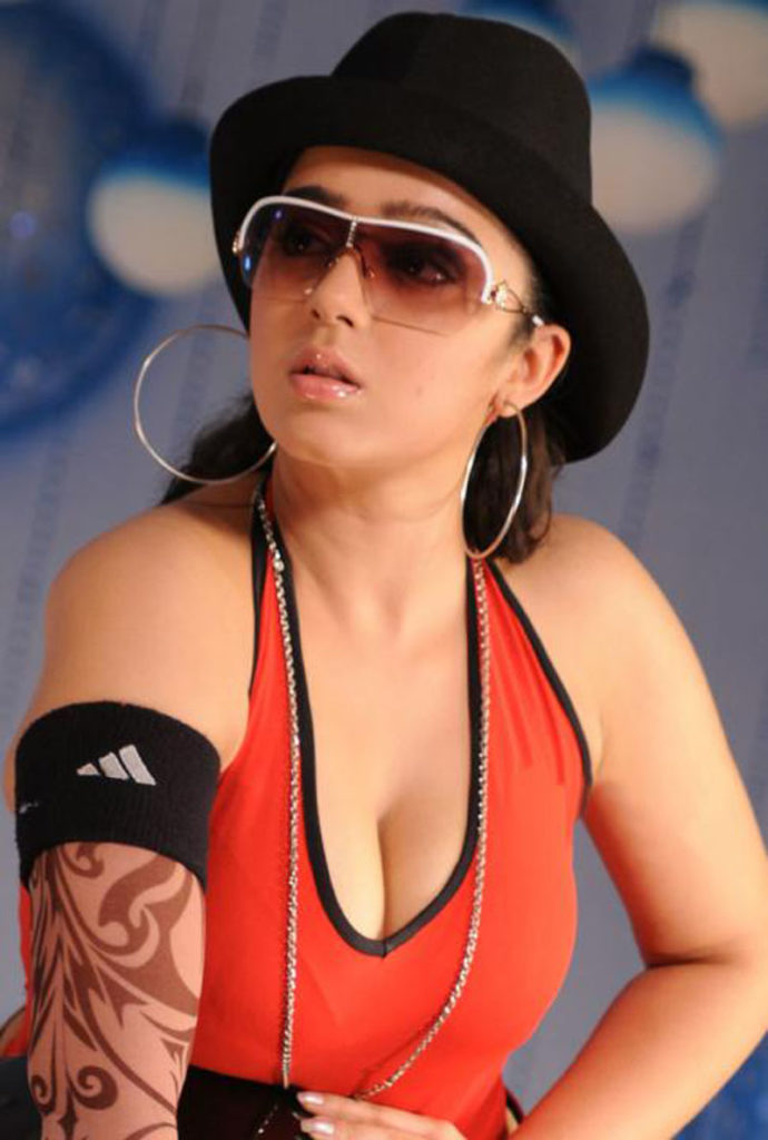 Charmi Kaur Braless Photos