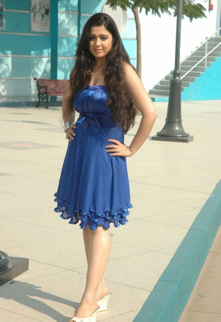 Charmi-Kaur-High-Heels-Photos