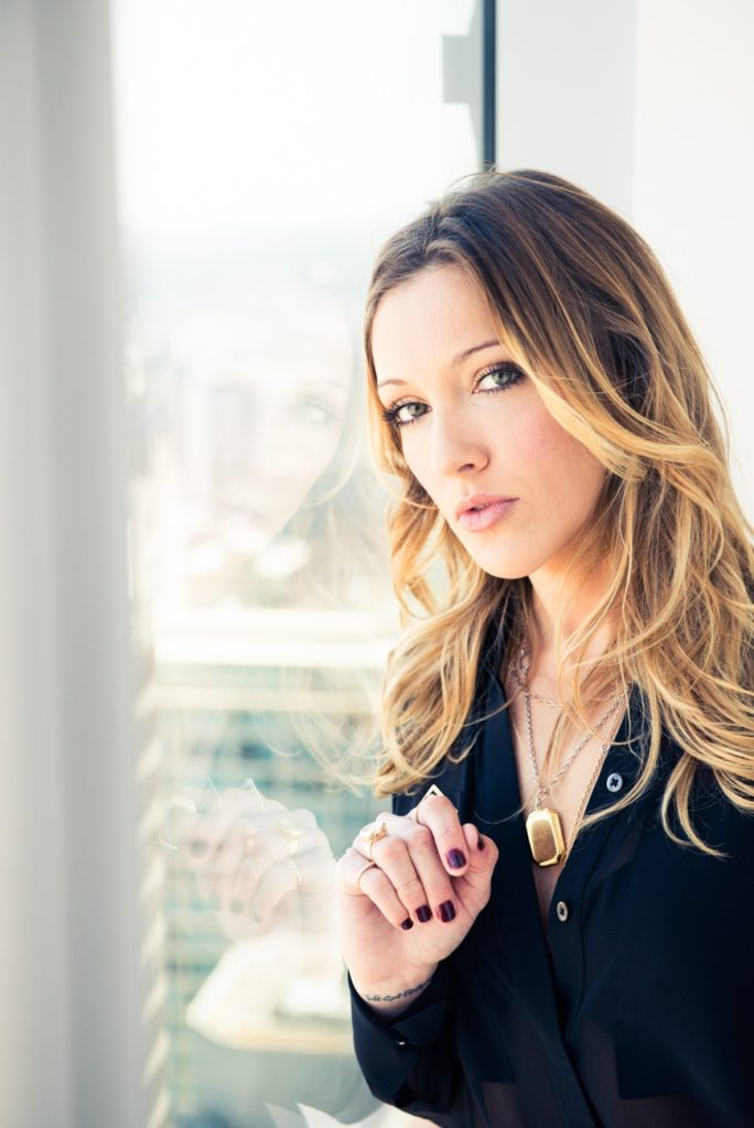 Katie Cassidy Muscles Pictures